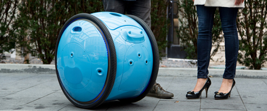 Gita - the cargo carrying droid by Piaggio